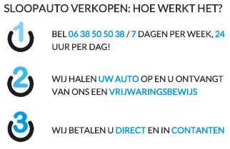 Sloopautoverkopen - Sloopauto verkopen Utrecht